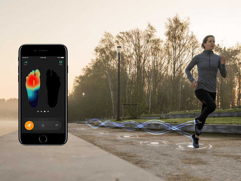 Mobile gait analysis with ARION while running
