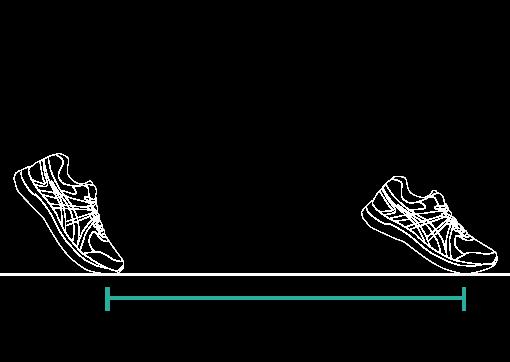 Step length
