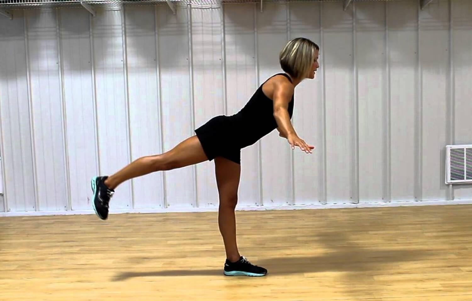 Balance exercises to protect against running injuries