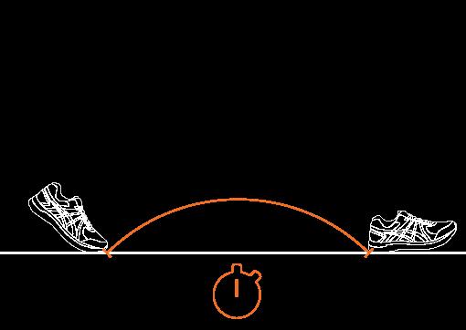 running flight time
